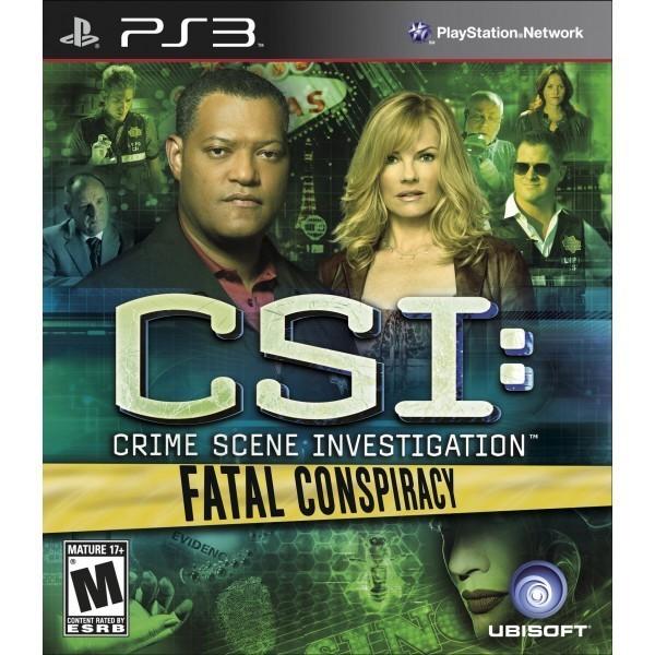 Crime Scene Investigation Fatal Conspiracy for PS3