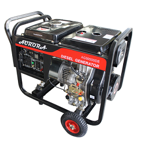 Aurora 6500 Watt Portable Diesel Generator