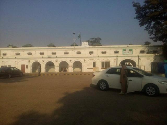 Kharian Cantonment Railway Station