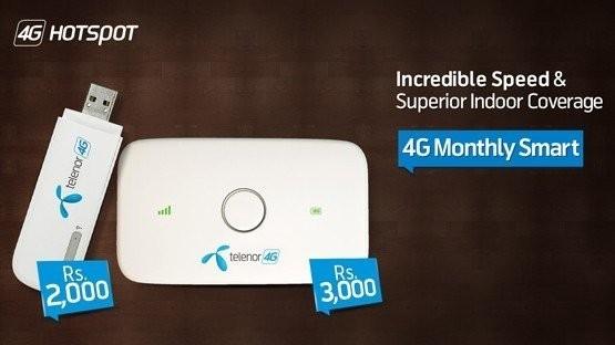 Telenor 4G Monthly Smart