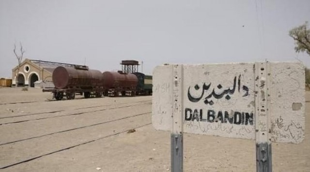 Dalbandin Railway Station