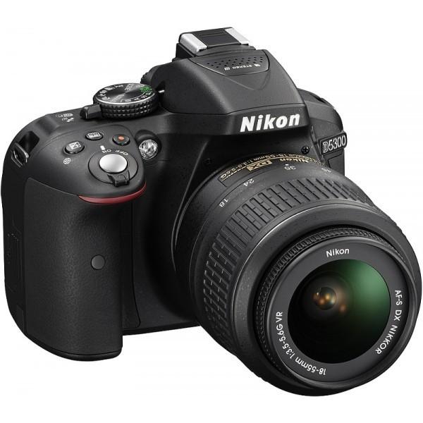 Nikon D5300 18-55-mm camera