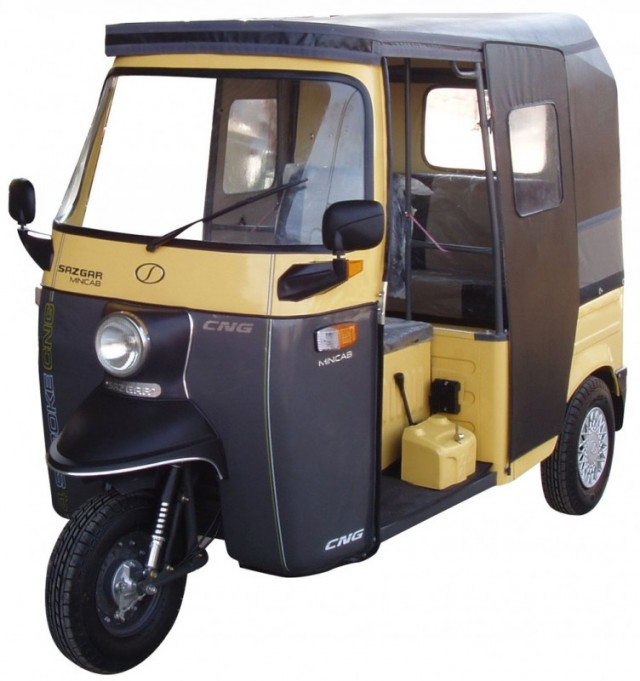Sazgar Royal Deluxe Mini Cab CNG