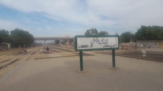 Landhi Railway Station
