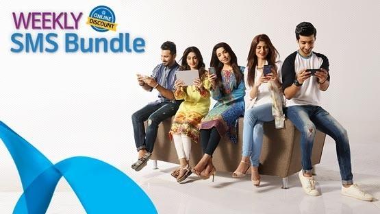 Talkshawk Weekly SMS Bundle