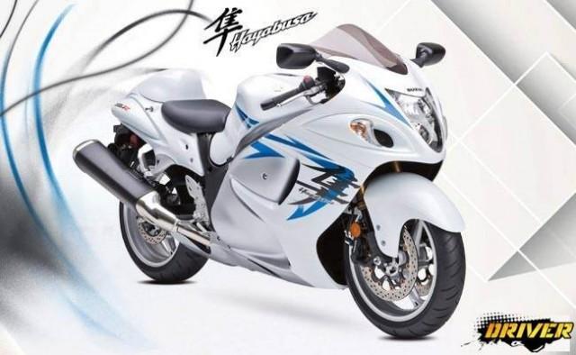 Suzuki Hayabusa GSX 1330R Bike