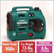 Elemax SHX1000 Portable Gasoline Generator