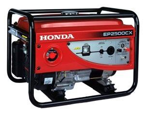 Honda Petrol EP2500CX  2.0KVA Generator