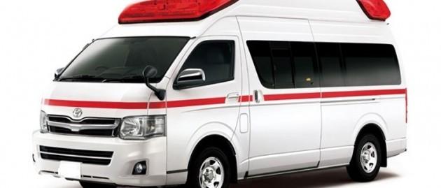 Toyota HiAce 3.0 Ambulance Std.Roof A/C 2017