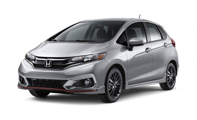 Honda Fit Hybrid L Package 2018