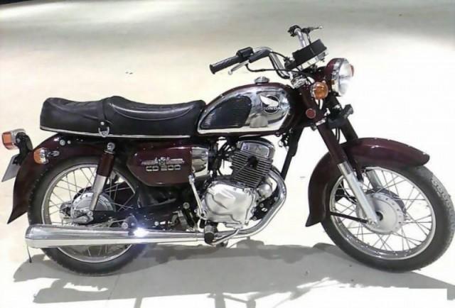 Honda CD 200 2021