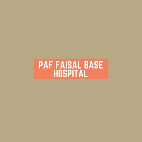 PAF Faisal Base Hospital