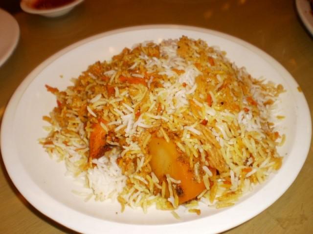 Karachi Chicken Biryani