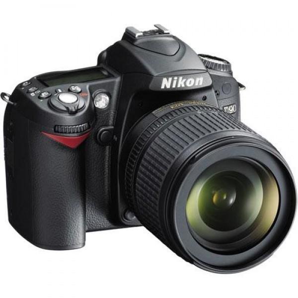 Nikon D90 18-105-mm camera