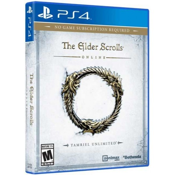 Elder Scrolls Online Tamriel Unlimited For PS4