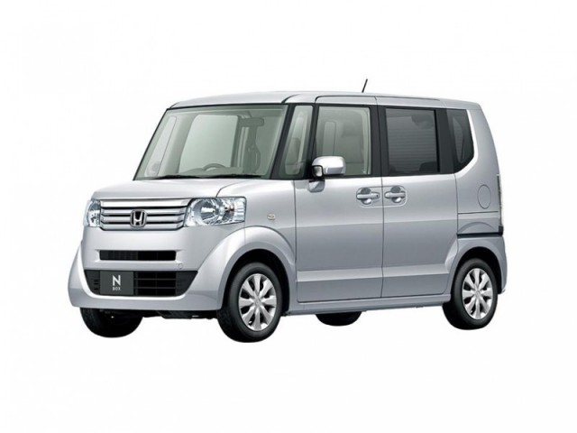 Honda N Box 2 Tone Color Style - G SS Package 2021 (Automatic)