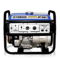 Yamaha F2600FW 2070 2.3 KVA Self Start & petrol Generator