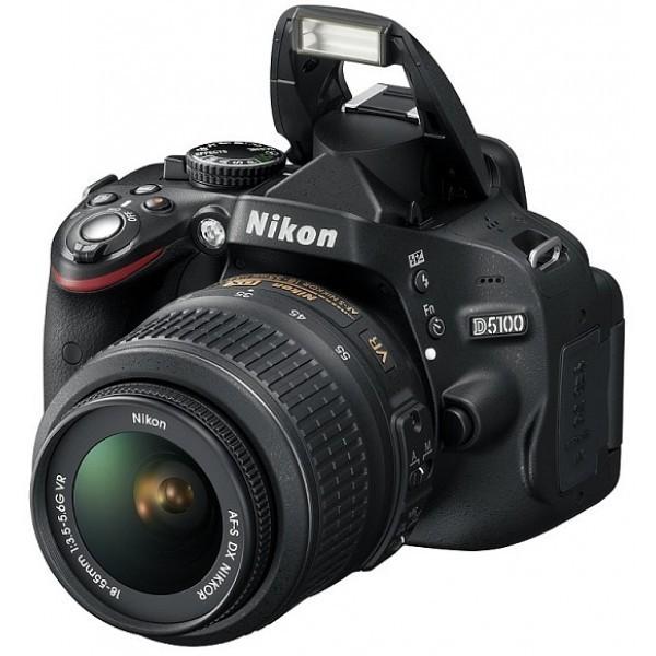 Nikon D5100 18-55-mm VR Lense CAMERA