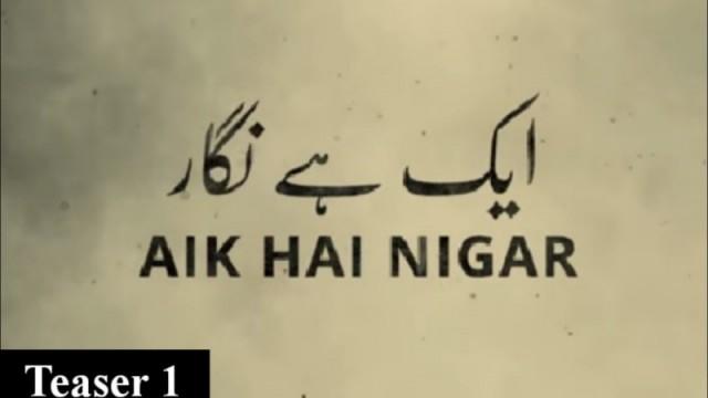 Aik Hai Nigar
