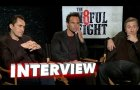 The Hateful Eight: Walton Goggins, Tim Roth & Demian Bichir Exclusive Interviews