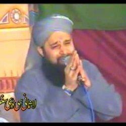"owais raza qadri '' most beautiful and inspirational  NaaT "" Hazir hain Der-e-Dolat pey Gada pt1"