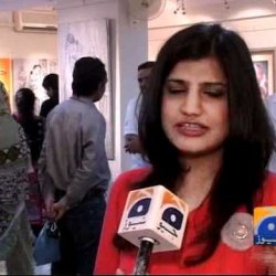 Geo Reports-Art Exibition In Karachi-27 May 2012