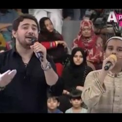 Amjad Sabri Son Recites Naat with Farhan Ali Waris - Everyone Crying