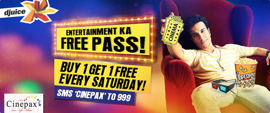 Cinepax Cinema Ocean Mall Djuice Entertainment Ka Free Pass