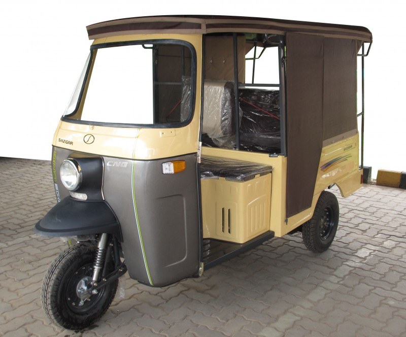 Sazgar Cng Deluxe 7 Seater Rickshaw Price In Pakistan
