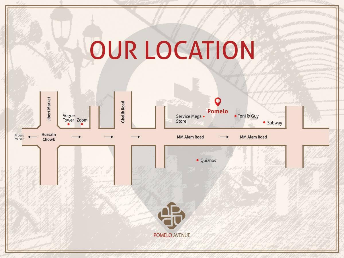 Pomelo Avenue Location