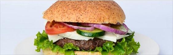 EatFit Burgers Menu