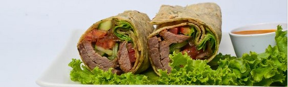 EatFit Whole Wheat Wrap Menu