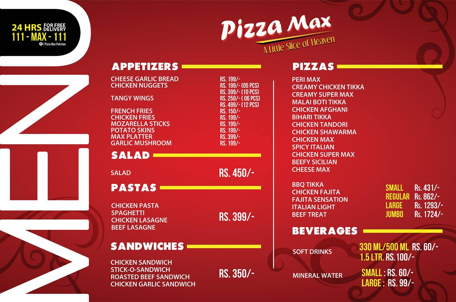Pizza Max, Airport Res...