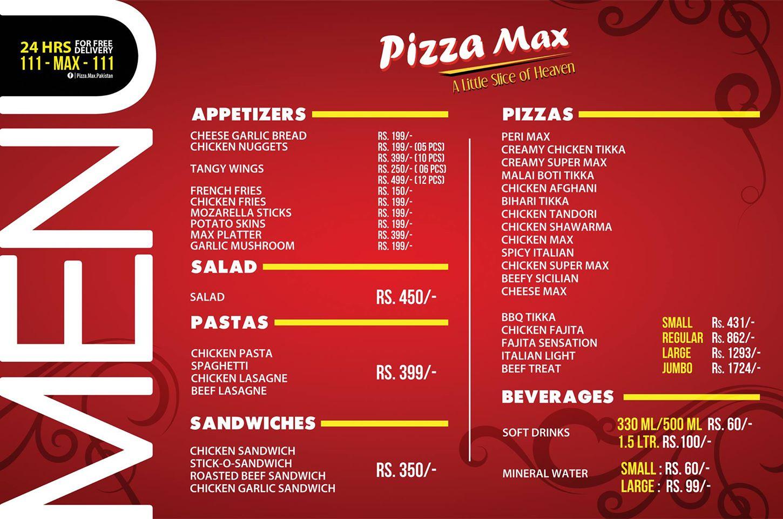 pizza max  airport restaurant in karachi