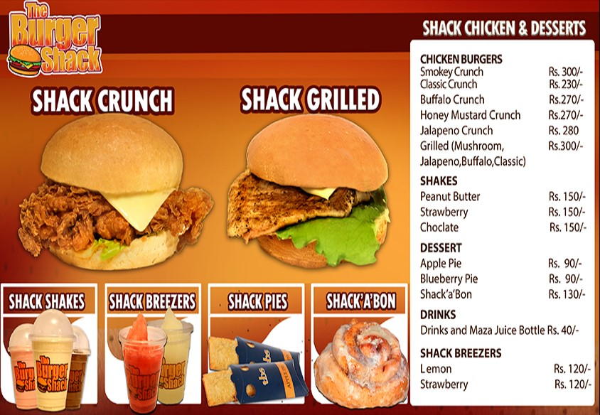 The Burger Shack Shaheed e Millat Restaurant in Karachi