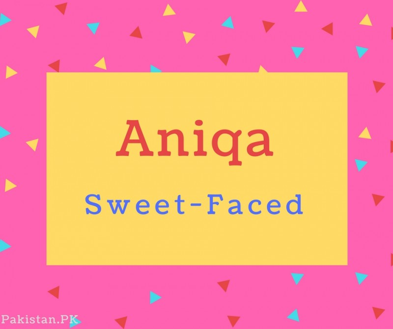 What is Aniqa Name Meaning In Urdu - Aniqa Meaning is گردن